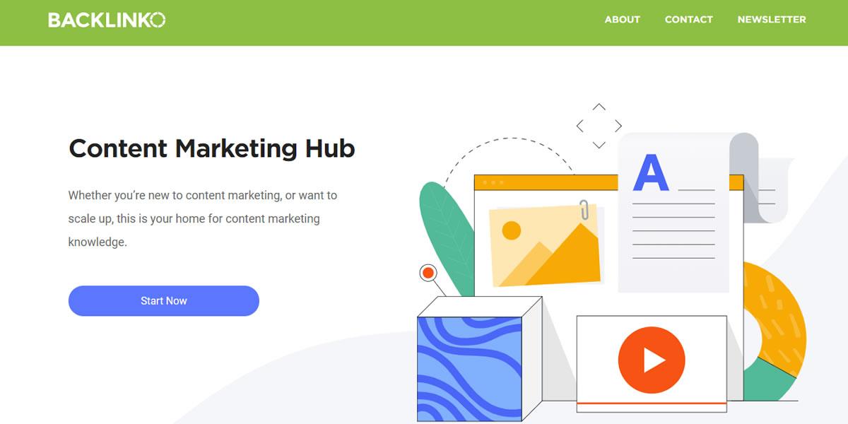 Backlinko - Content Marketing Hub
